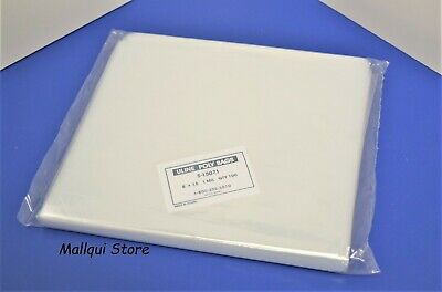 100 CLEAR 8 x 15 LAY FLAT OPEN TOP POLY BAGS PLASTIC PACKING ULINE BEST 1 MIL