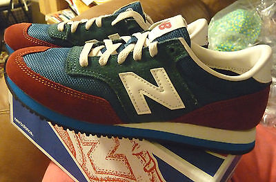 NIB New Balance 620 Sneakers for J.Crew 9.5 Women Shoes Sneakers BURNT CRIMSON