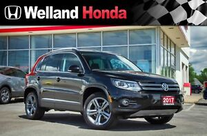 2017 Volkswagen Tiguan Highline | ONE OWNER | NO ACCIDENTS