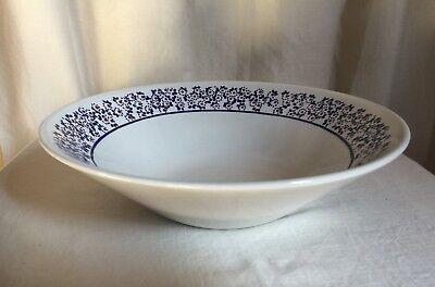 "Richard Ginori,Manifattura di Laveno,vintage serving bowl.Dotted flowers.10""d."