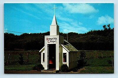 Sultan, WA - SMALL TOWN VINTAGE POSTCARD - WAYSIDE CHAPEL CHURCH MONROE - W