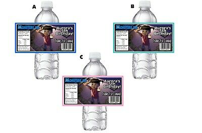 BOO FROM MONSTERS INC PERSONALIZED BIRTHDAY PARTY FAVORS WATER BOTTLE LABELS](Monsters Inc Birthday Party)