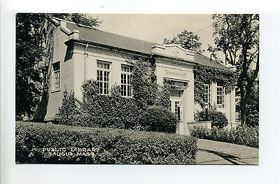 For sale Saugus MA Mass Public Library, 1930's?