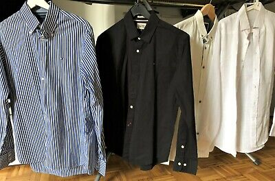 Business Hemd Set 4 teilig & neuwertig, Gr. M - Tommy Hilfiger Cotton On - Linen