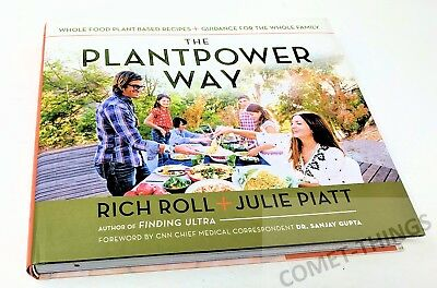 Plantpower Way - Whole Food Plant-Based Recipes Rich Roll & Julie Piatt