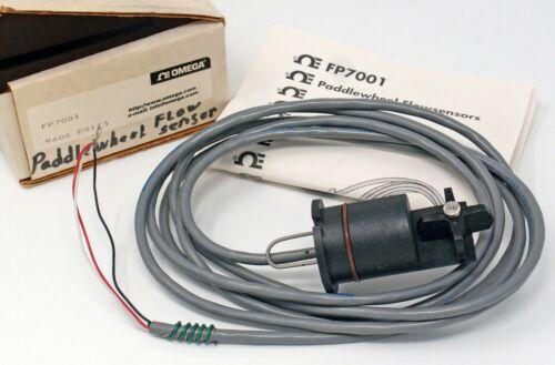 Omega FP7001 Paddlewheel Flow Sensor