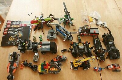 LEGO City, Batman Lot Cranes, Batmobile, Truck, Helicoptor, + Mixed + Minifigs