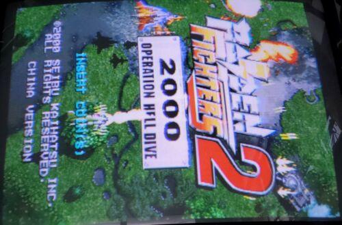 Raiden Fighter 2 PCB Jamma Video Arcade Game Seibu 2000