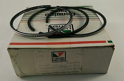 Lister Petter Piston Ring Set 0.020 Oversize For Ad1 Ad2 Engine 364710 Adc113b