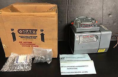 New In Factory Box Gast Vacuum Pump Model Doa-p101-fb 115110v 3.34.8 Amps