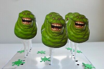 Ghostbusters Birthday Party (Ghostbusters Slime, Party favors,Supplies / Lollipops /  Birthday  SET OF)