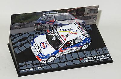 1/43 Peugeot 306 Maxi Esso Ultron  Tour de Corse Rally 1998  F.Delecour segunda mano  Embacar hacia Spain