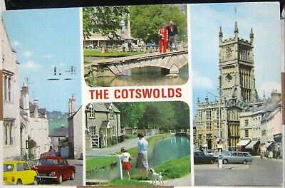 England The Cotswolds Painswick Lower Slaughter etc - posted 1979