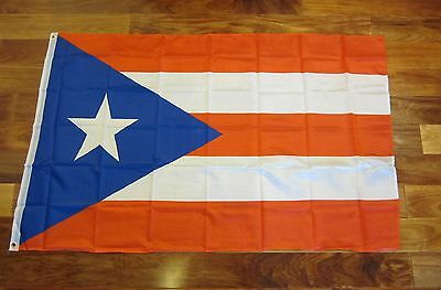 1 PUERTO RICO FLAG 3' X 5' PUERTO RICAN USA US STATE BANNER 3 FEET BY 5 FEET