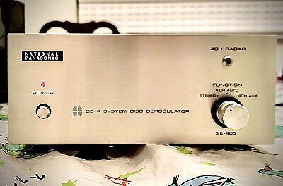 Panasonic SE-405 H CD-4 Disc Demodulator