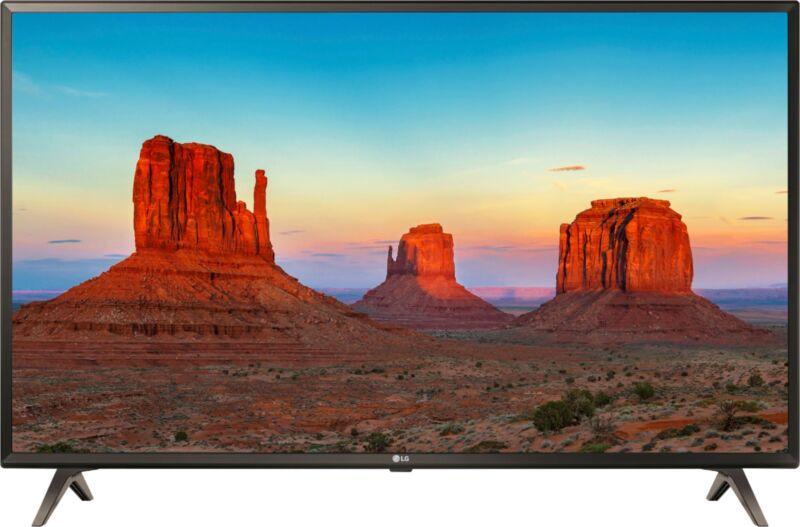 "LG 43"" Class LED UK6300 Series 2160p Smart 4K UHD TV with HDR 43UK6300"