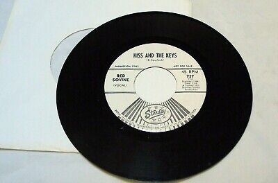 RED SOVINE KISS AND THE KEYS PROMO / GIDDYUP GO 45 RPM RECORD - Giddy Up And Go