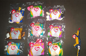 McDonalds Beanie Babies. Multiple diff. full sets, 67 in total