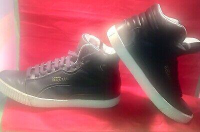 Men's Alexander McQueen Puma Trainers Sneakers. Mid  8. Black Collectible.