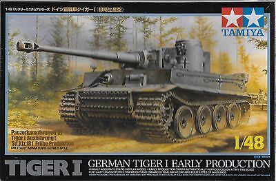 1/48 Tamiya 32504 - German WWII Tiger Tank Early Production  Plastic Model Kit
