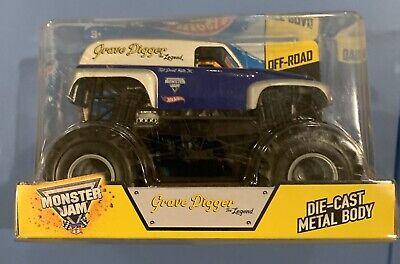 Hot Wheels Monster Jam Grave Digger LEGEND 1:24 Scale Diecast Truck