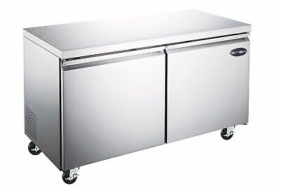 Saba 48 Commercial Undercounter Refrigerator Stainless Steel Food Storage