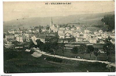 CPA -Carte postale-France - Villers le Lac (CP1791)