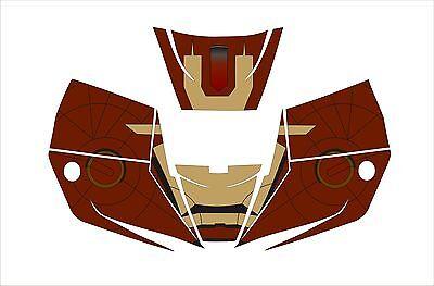 Miller Pro Hobby Classic Digital Welding Helmet 256166 - 251292 Decal Iron Man