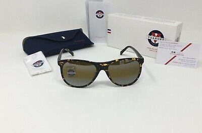 VUARNET® VL 1520 0002 PILOT Sunglasses, SKILYNX Yellow Silver Mirror GLASS (Vuarnet Ski Glasses)