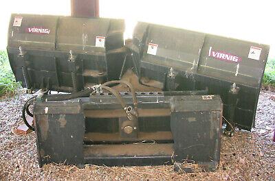 Virnig Sbv84 Skid Steer Snow V-blade Attachment