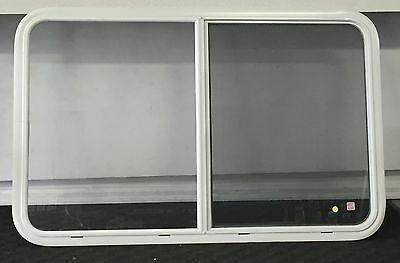 "46"" x 29"" Sliding Window for RV / Camper / Trailer / 5th Wheel (White)"
