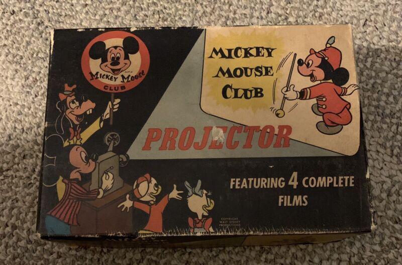 WALT DISNEY  MICKEY MOUSE CLUB  PROJECTOR  488  STEPHENS  C. 1950