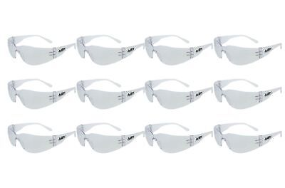ABN 7708 Safety Glasses - Clear Lens, UV Protective, ANSI st