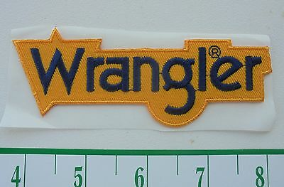 NEW/UNUSED WRANGLER ADHESIVE CLOTH HAT  PATCH