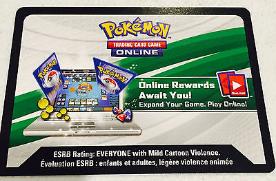 50 Pokemon Online Tcg Shining Legends Booster Pack Code Cards