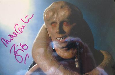 8x5 Hand Signed Photo Star Wars Bib Fortuna - Michael Carter