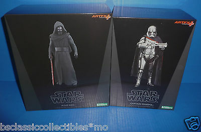 Star Wars Kylo Ren & Captain Phasma ARTFX+ Kotobukiya Figures/Statue Model Kits