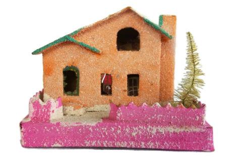 PUTZ Christmas Village House Vintage 1950