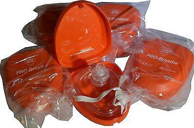 5 x CPR Notfall Beatmungsmaske Taschenmaske Beatmung Erste Hilfe Atemmaske