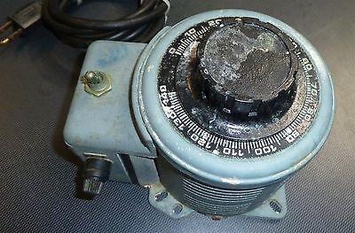 Powerstat 3pn116c Variac 140v Variable Transformer Inventory 623