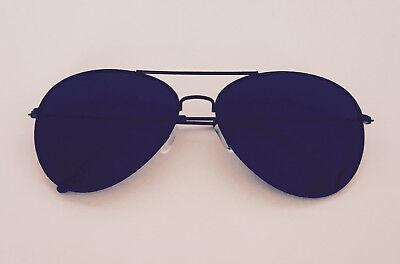 New Shades Sunglasses Black Classic Gafas de Sol Hot Top Gun Pilot Cop Costume
