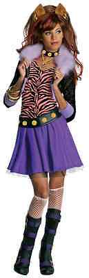 Clawdeen Wolf Monster High Mattel Nick Fancy Dress Up Halloween Child Costume (Monster High Dress Up Clawdeen Wolf)