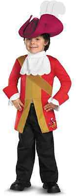 Captain Hook Jake Never Land Pirates Disney Halloween Toddler Child Costume](Captain Hook Baby Costume)