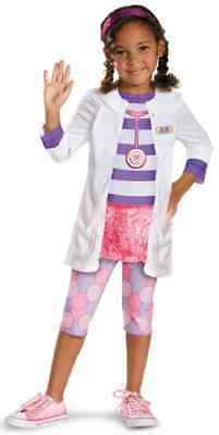 Doc McStuffins Classic Disney Doctor Fancy Dress Halloween Toddler Child Costume
