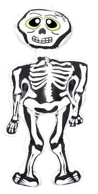 Gonfiabile Scheletro - 73cm - Soffio fino Giocattolo Halloween Sostegno Costume