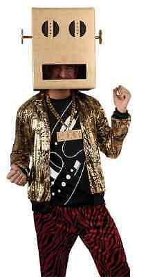 Shuffle Bot LMFAO Party Rock Anthem Robot Fancy Dress Halloween Adult Costume