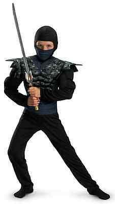Night Camo Ninja Military Muscle Fancy Dress Up - Camo Ninja Kostüme