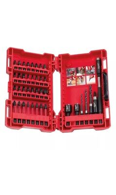 Milwaukee 40pc Shockwave Impact Duty Screwdriver & Drill Bit Set Driver Bits