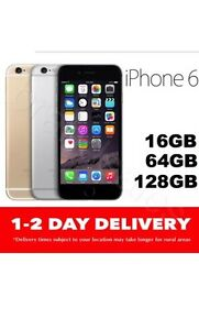Apple iPhone 6 128GB 100% Genuine unlocked space grey or silver Melbourne CBD Melbourne City Preview