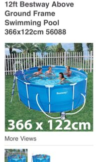 Bestway Above Ground Swimming Pool Hoppers Crossing Wyndham Area Preview